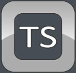 TS computer logo